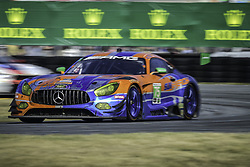 January 28, 2018 - Daytona, FLORIDE, ETATS UNIS - 75 SUNENERGY1 RACING (USA) MERCEDES AMG GT3 MERCEDES AMG GTD KENNY HABUL (AUS) THOMAS JAEGER (DEU) MARO ENGEL (DEU) MIKAEL GRENIER  (Credit Image: © Panoramic via ZUMA Press)