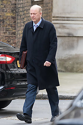 Downing Street, London, March 8th 2016. Leader of the House of Commons Chris Grayling arrives for the weekly UK cabinet meeting at Downing Street. ©Paul Davey<br /> FOR LICENCING CONTACT: Paul Davey +44 (0) 7966 016 296 paul@pauldaveycreative.co.uk