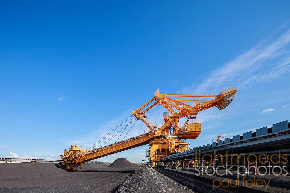 Coal Loader at Koorangang Island, NSW, Australia