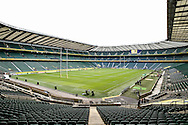 A general view of the stadium before the Aviva Premiership final at the Twickenham Stadium, London<br /> Picture by Andy Kearns/Focus Images Ltd 0781 864 4264<br /> 31/05/2014