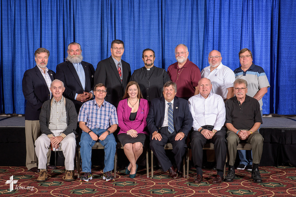 New England District group photograph on Monday, July 11, 2016, at the 66th Regular Convention of The Lutheran Church–Missouri Synod, in Milwaukee. LCMS/Erik M. Lunsford