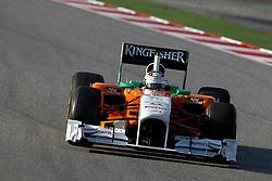 Motorsports / Formula 1: World Championship 2011, Testing in Barcelona, test, 14 Adrian Sutil (GER, Force India F1 Team),