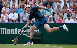 Great Britain's Kyle Edmund during day five of the Nature Valley International at Devonshire Park, Eastbourne.