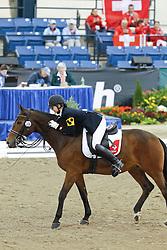 Van Till Celine (SUI) - Tin Tin G<br /> Alltech FEI World Equestrian Games <br /> Lexington - Kentucky 2010<br /> © Hippo Foto - Leanjo de Koster