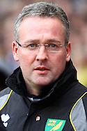 Picture by Paul Chesterton/Focus Images Ltd.  07904 640267.5/11/11.Norwich Manager Paul Lambert before the Barclays Premier League match at Villa Park stadium, Birmingham.
