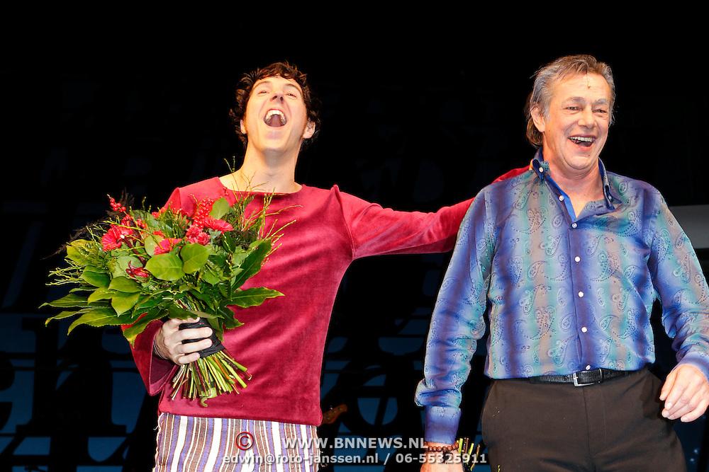 NLD/Den Haag/20111201- Premiere Ramses, William Spaaij en Hans Hoes