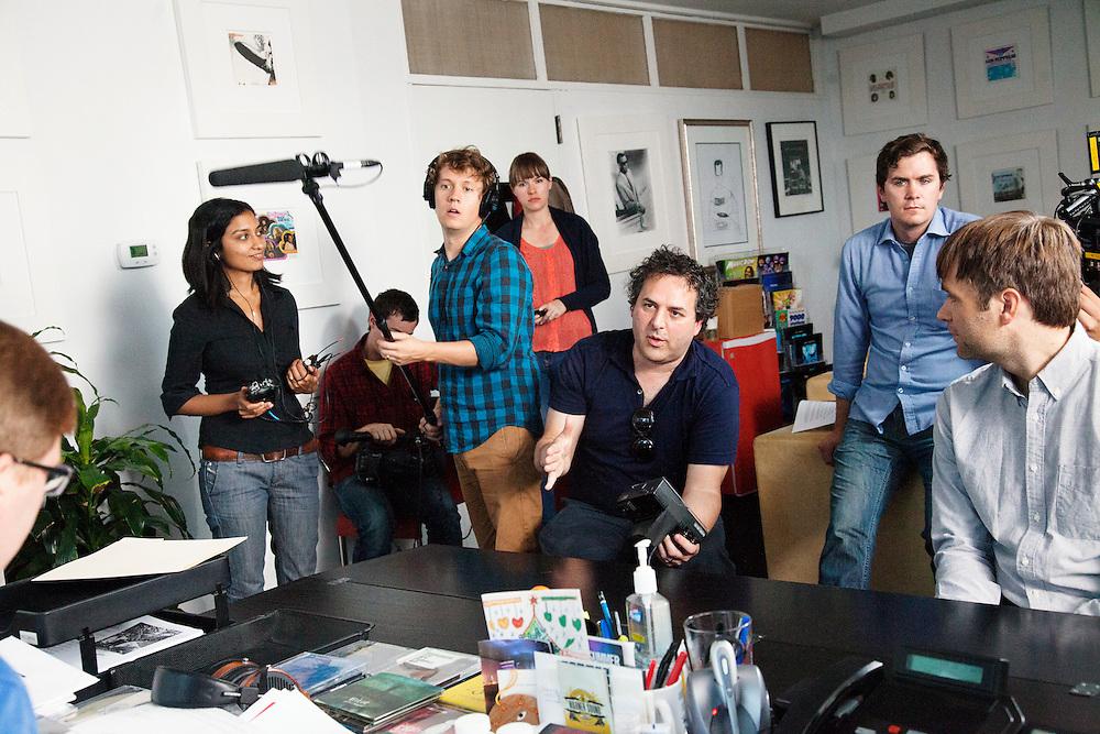 "Tom Scharpling, Puloma Basu, Robert Hatch-Miller - Benjamin Gibbard – ""Teardrop Windows"" - Behind the Scenes"