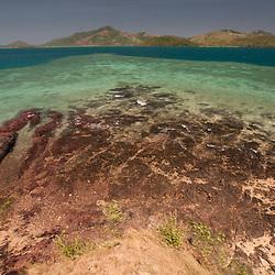 The Blue Lagoon from Vonu Point, Turtle Island, Yasawa Islands, Fiji