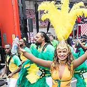 NLD/Eindhoven/20190302  - Romario bij carnavalsoptocht 2019 in Eindhoven, Braziliaanse Danseressen