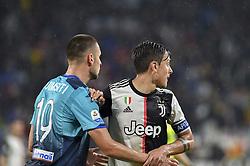 May 19, 2019 - Turin, Turin, Italy - Paulo Dybala of Juventus FC and Berat Djimsiti,  of Atalanta BC during the Serie A match at Allianz Stadium, Turin  (Credit Image: © Antonio Polia/Pacific Press via ZUMA Wire)