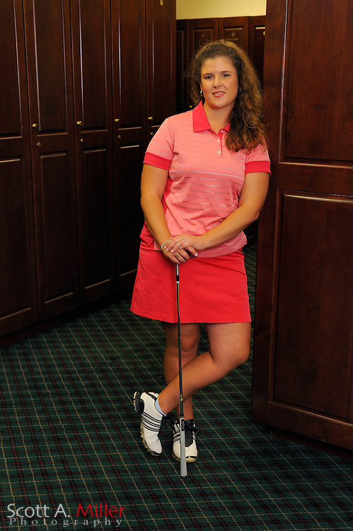 Nikki Hadd during a portrait shoot prior to the Symetra Tour's Florida's Natural Charity Classic at the Lake Region Yacht and Country Club on March 20, 2012 in Winter Haven, Fla. ..©2012 Scott A. Miller.