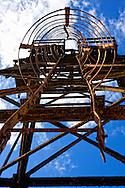 Tower in Minas de Matahambre, Pinar del Rio, Cuba.