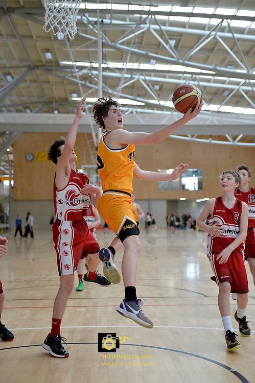 2013 U15 National Championship Basketball Tournament at ASB Sports Centre, Kilbirnie, Wellington, New Zealand on Wednesday 24 July 2013. <br /> Photo by Masanori Udagawa. <br /> www.photowellington.photoshelter.com