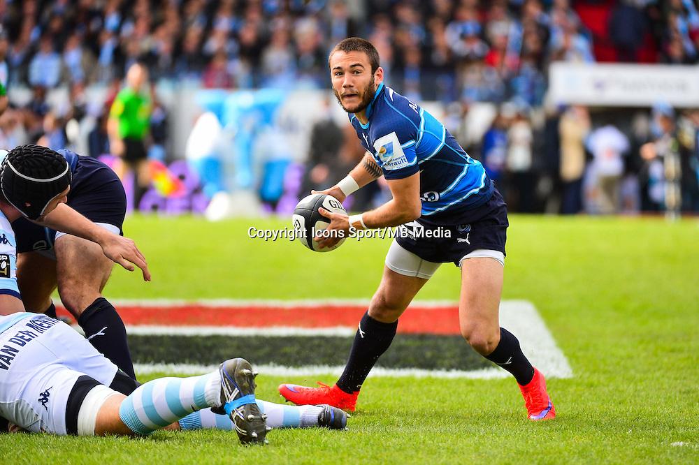 Benoit PAILLAUGUE  - 11.04.2015 - Racing Metro / Montpellier  - 22eme journee de Top 14 <br />Photo : Dave Winter / Icon Sport