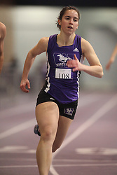 London, Ontario ---11-01-22---   Jacqueline Rennebohm of the Western Mustangs competes at the 2011 Don Wright meet at the University of Western Ontario, January 22, 2011..GEOFF ROBINS/Mundo Sport Images.