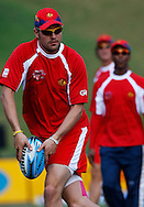 Richard Cameron during the Lions training session Supersport Park in Centurion on the 11 September 2010..Photo by: Trevor Kolk/SPORTZPICS/CLT20