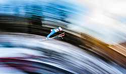 17.12.2016, Nordische Arena, Ramsau, AUT, FIS Weltcup Nordische Kombination, Skisprung, im Bild Lukas Klapfer (AUT) // Lukas Klapfer of Austria during Skijumping Competition of FIS Nordic Combined World Cup, at the Nordic Arena in Ramsau, Austria on 2016/12/17. EXPA Pictures © 2016, PhotoCredit: EXPA/ JFK