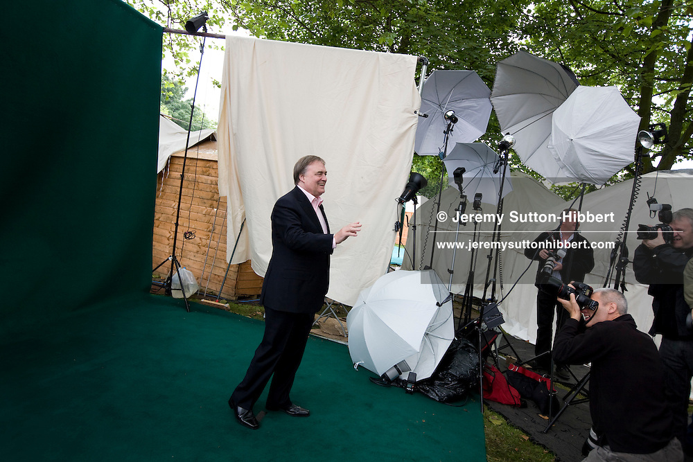 John Prescott, politician, Britain's longest serving deputy Prime Minister. Edinburgh International Book Festival, Edinburgh, Scotland. Edinburgh is the UNESCO Inaugural City of Literature.