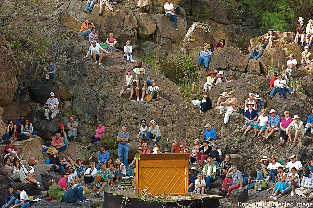 The Festival of the Sun and  Rebirth in the unusual, natural setting of El Charco's Canyon in San Miguel de Allende Mexico.During the festival, Dr.Tsalka performed a piano concert playing works by Mozart,Schubert,Chopin,Liszt,Ullmann and Eric Satie.