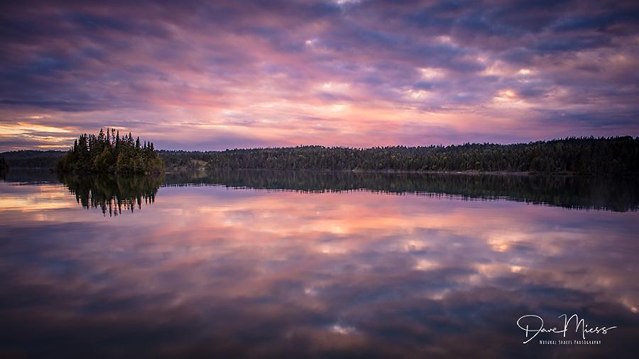 Tobin Harbor Sunset, Isle Royale National Park