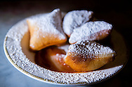 Beignets with house-made apple butter are the perfect brunch treat.