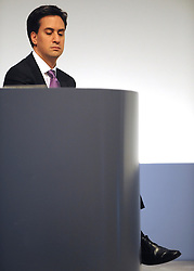 © Licensed to London News Pictures. 28/09/2011. LONDON, UK. Ed Miliband, Leader of the Labour Party, at The Labour Party Conference in Liverpool today (28/09/11). Photo credit:  Stephen Simpson/LNP