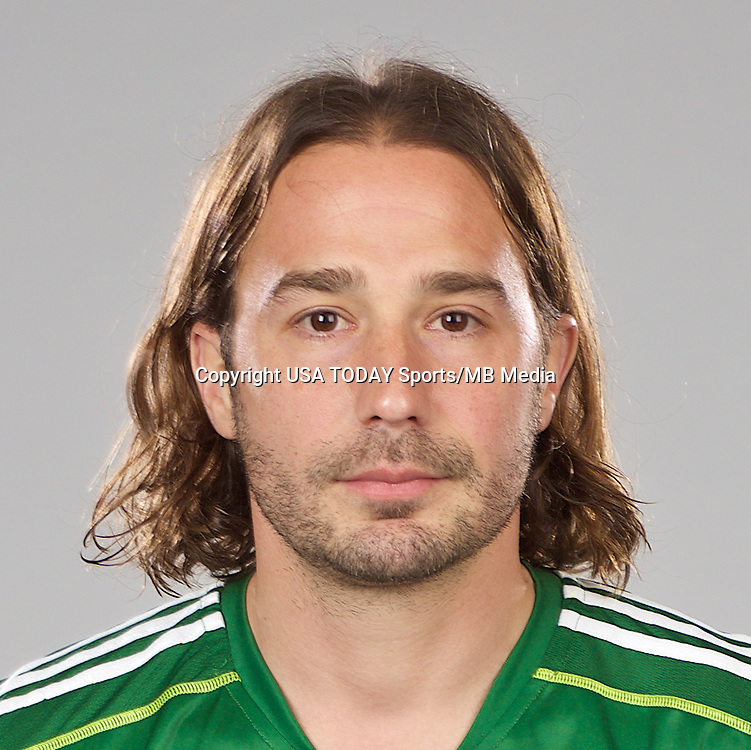Feb 25, 2016; USA; Portland Timbers player Ned Grabavoy poses for a photo. Mandatory Credit: USA TODAY Sports