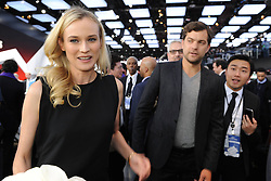 DIANE KRUGER and JOSHUA JACKSON during the 2013 Detroit Auto Show, US,  January 15, 2013. Photo by Imago / i-Images...UK ONLY
