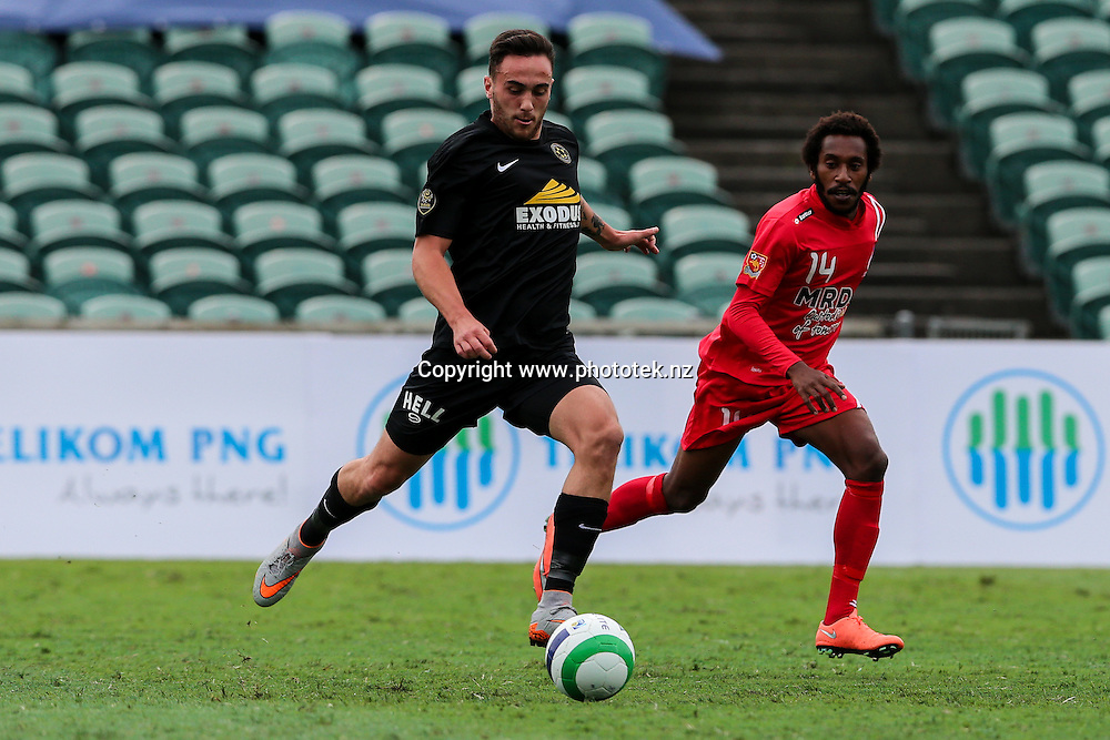 . OFC Champions League 2016 Group Stage, Team Wellington v Hekari United, QBE Stadium, Auckland, Saturday 16th April 2016. Photo: David Joseph / www.phototek.nz