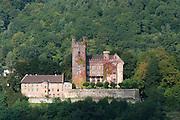 Mittelburg, Neckarsteinach, Odenwald, Naturpark Bergstraße-Odenwald, Baden-Württemberg, Deutschland | castle Mittelburg, Neckarsteinach, Odenwald, Baden-Wuerttemberg, Germany