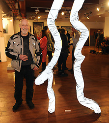 Stevie Scullion pictured at the opening of the two group shows Identity and Ipseity at the Westival Gallery. <br /> Pic Conor McKeown