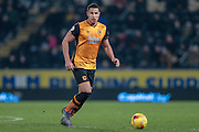 Jake Livermore (Hull City) during the Sky Bet Championship match between Hull City and Sheffield Wednesday at the KC Stadium, Kingston upon Hull, England on 26 February 2016. Photo by Mark P Doherty.