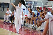 DESCRIZIONE : Teramo Giochi del Mediterraneo 2009 Mediterranean Games Italia Italy Montenegro Preliminary Men<br /> GIOCATORE : Carlo Recalcati<br /> SQUADRA : Italia Italy<br /> EVENTO : Teramo Giochi del Mediterraneo 2009<br /> GARA : Italia Italy Montenegro<br /> DATA : 29/06/2009<br /> CATEGORIA : coach<br /> SPORT : Pallacanestro<br /> AUTORE : Agenzia Ciamillo-Castoria/G.Ciamillo