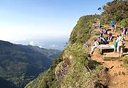 World's End cliff at Horton Plains national park, Sri Lanka, Asia
