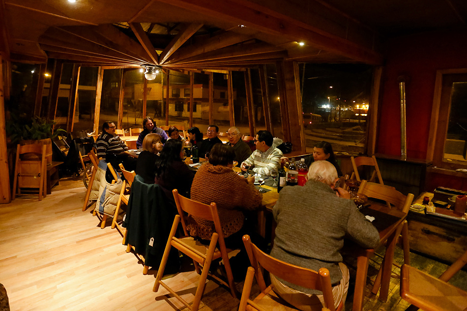 Hain Hotel. Punta Arenas, Chile. Region of Magellan and of the Chilean Antarctica.<br /> Magallanes y la Ant&aacute;rtica Chilena Region