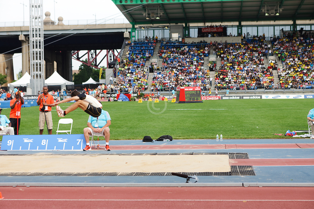 Samsung Diamond League adidas Grand Prix track & field; Lapierre, men's long jump