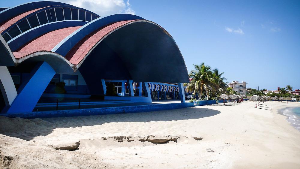 The Club Nautico in La Havana Cuba was designed in 1953 by Max Borges-Recio.