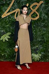 The British Fashion Awards 2018 at the Royal Albert Hall in London, UK. 10 Dec 2018 Pictured: Doina Ciobanu. Photo credit: Fred Duval/MEGA TheMegaAgency.com +1 888 505 6342