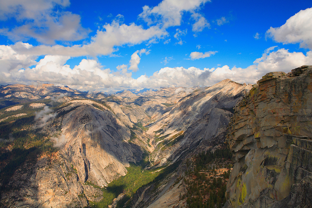 Top Of Half Dome North Overlook - Yosemite