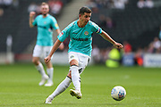 Forest Green Rovers Lloyd James(4) during the EFL Sky Bet League 2 match between Milton Keynes Dons and Forest Green Rovers at stadium:mk, Milton Keynes, England on 15 September 2018.