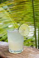 Margarita at the Villa Pescadores hotel and beach club in Tulum, Mexico.