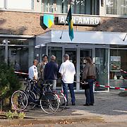 NLD/Huizen/20080926 - Overval geweest op de ABN-AMRO Naarderstraat Huizen,