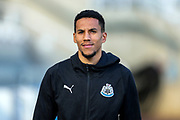 Isaac Hayden (#14) of Newcastle United arrives ahead of the Premier League match between Newcastle United and Everton at St. James's Park, Newcastle, England on 9 March 2019.