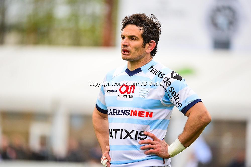 Yoan AUDRIN  - 11.04.2015 - Racing Metro / Montpellier  - 22eme journee de Top 14 <br />Photo : Dave Winter / Icon Sport