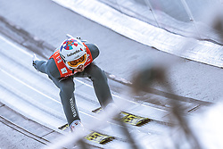 24.02.2019, Bergiselschanze, Innsbruck, AUT, FIS Weltmeisterschaften Ski Nordisch, Seefeld 2019, Skisprung, Herren, Teambewerb, Probesprung, im Bild Killian Peier (SUI) // Killian Peier of Switzerland during the trial jump for the men's skijumping team competition of FIS Nordic Ski World Championships 2019 at the Bergiselschanze in Innsbruck, Austria on 2019/02/24. EXPA Pictures © 2019, PhotoCredit: EXPA/ Dominik Angerer