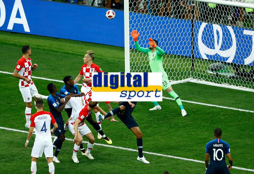 own goal Mario Mandzukic (Croatia)<br /> Moscow 15-07-2018 Football FIFA World Cup Russia  2018 Final / Finale <br /> France - Croatia / Francia - Croazia <br /> Foto Matteo Ciambelli/Insidefoto