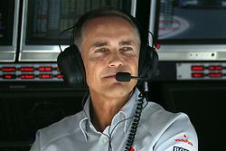 Motorsports / Formula 1: World Championship 2010, GP of Korea, Martin Whitmarsh (ENG, Teamchef Vodafone McLaren Mercedes),