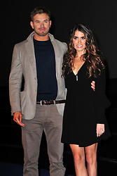 Nikki Reed and Kellan Lutz during the photocall for the release of the epic final instalment of The Twilight Saga: Breaking Dawn Part 2, ahead of a fan Q&A at the Vue, West End, London, UK, October 29, 2012. Photo by Nils Jorgensen / i-Images.
