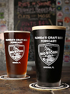 BRENDAN FITTERER   |   Times <br />Big Storm's Oats in Hose oatmeal stout, right, and PalmBender Pale Ale are both available on tap at Big Storm Brewery in Odessa.