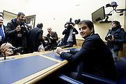 Rome Jan 20th 2014, leader of the minority of Forza Italia Party Mr Raffaele Fitto